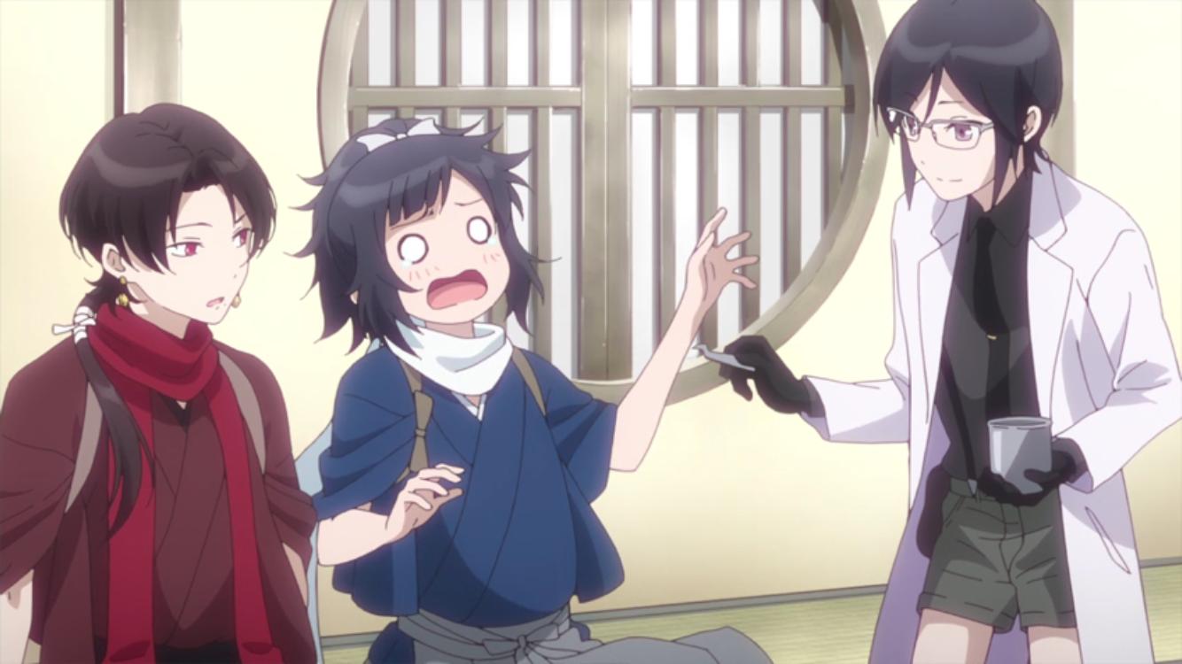 [Review] Touken Ranbu: Hanamaru – episode 1