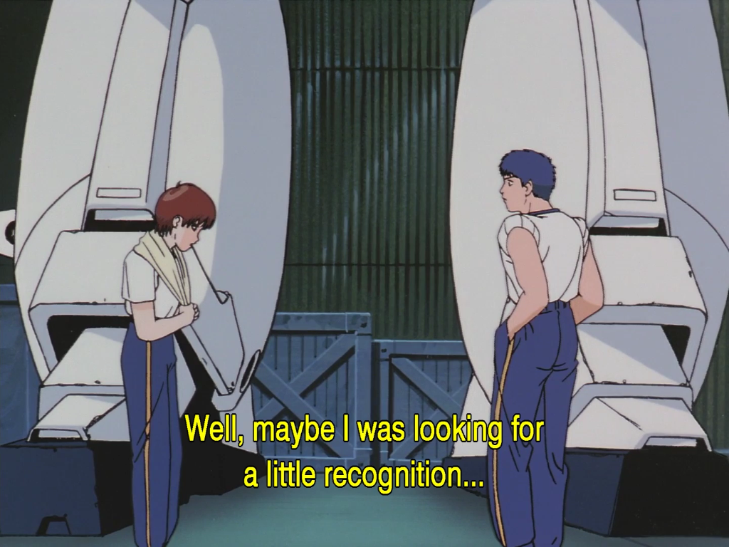 [AniFem History] Noa's Imposter Syndrome in Patlabor