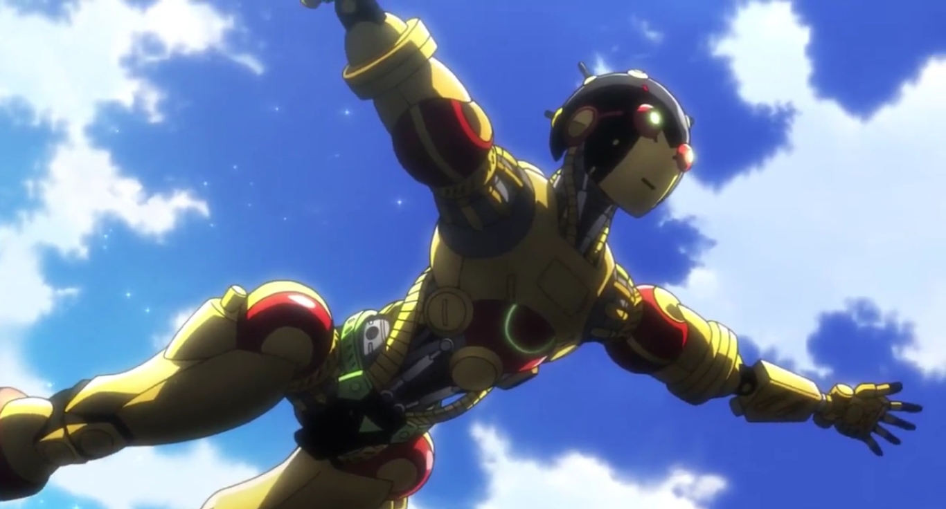 [Review] Atom the Beginning – episode 1