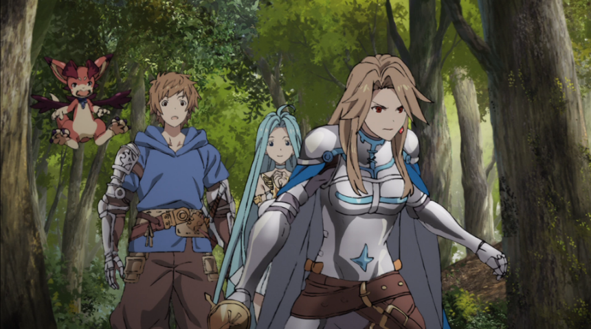 [Review] Granblue Fantasy the Animation – episodes 1-2