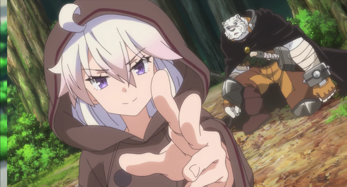 [Review] Grimoire of Zero – episode 1