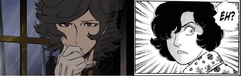 comparison, Oscar (The Woman Called Fujiko Mine) and James (From Eroica With Love)