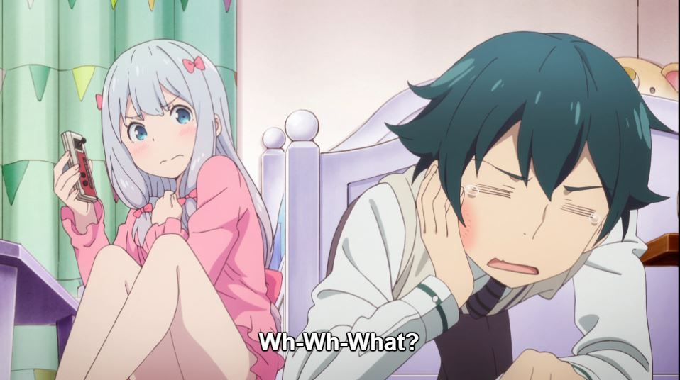 [Review] Eromanga Sensei – episode 1