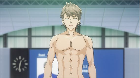 Yoichi, who has so many abs. like ten abs