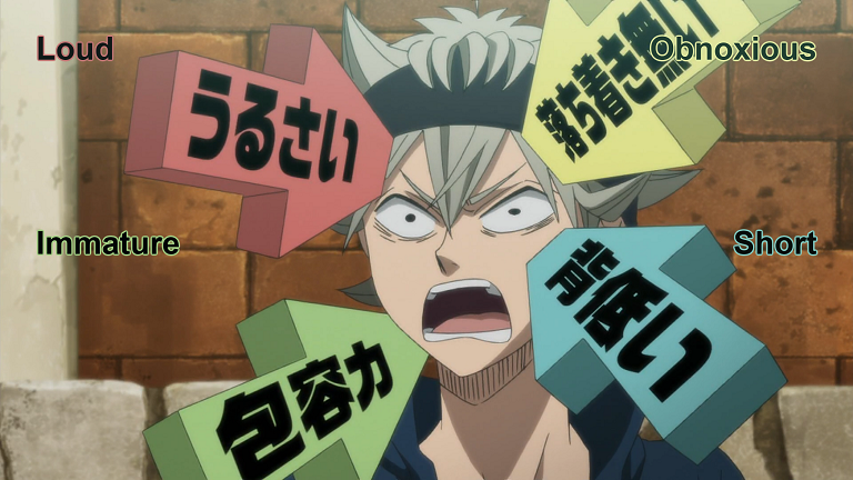 [Review] Black Clover – episode 1