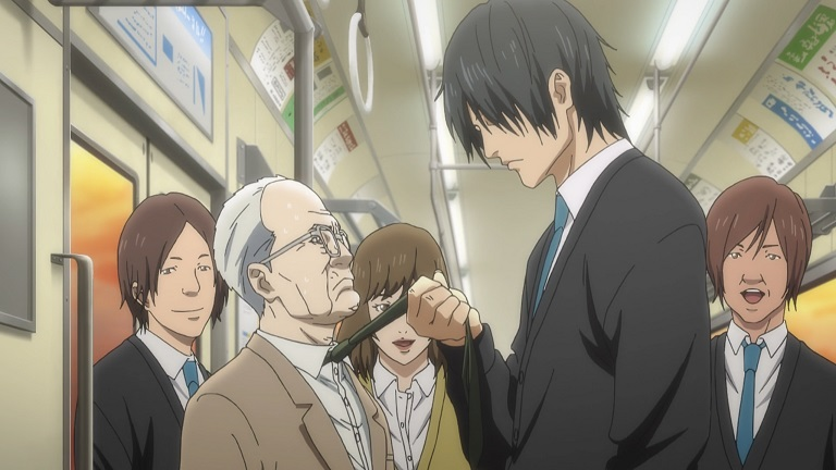 [Review] Inuyashiki – episode 1