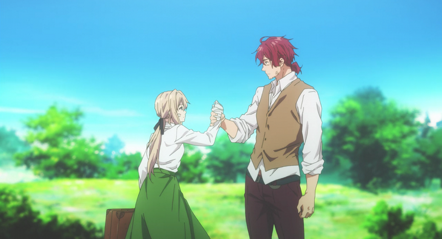 [Review] Violet Evergarden – Episode 1