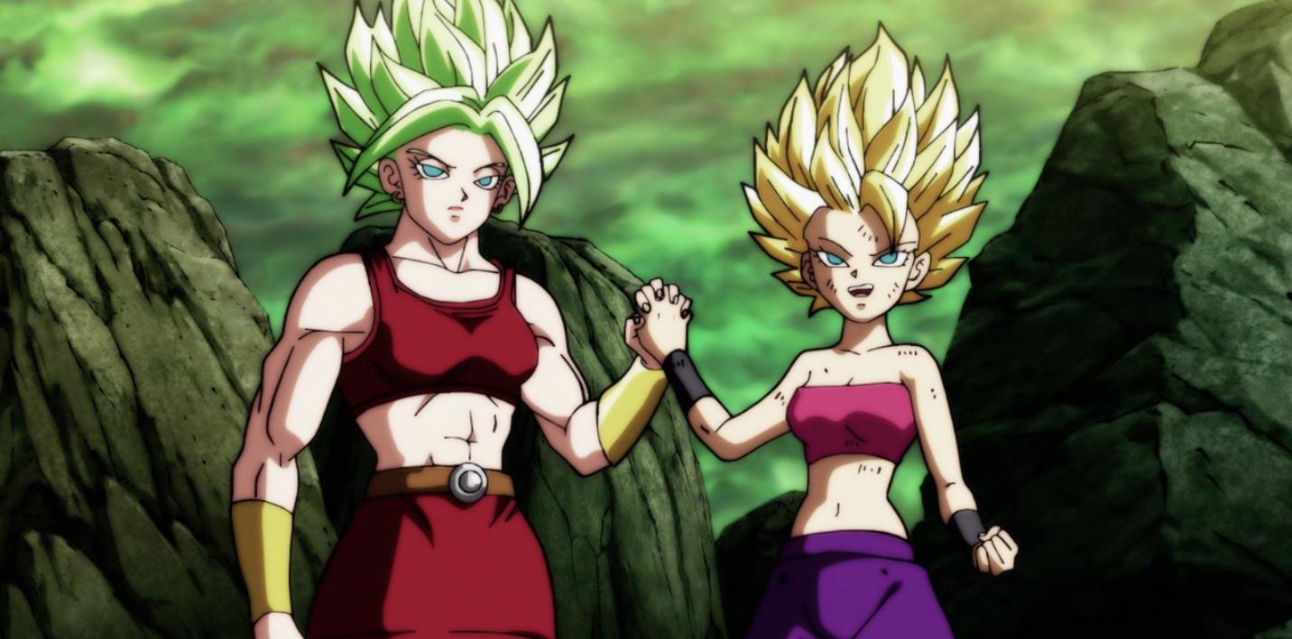 Dragon Ball Super's female super saiyans