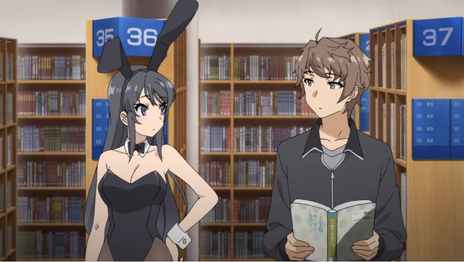 Review Rascal Does Not Dream Of Bunny Girl Senpai Episode 1